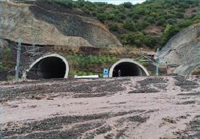 Σοβαρές ζημιές του δικτύου σε σημεία της γραμμής Λιανοκλάδι-Λάρισα