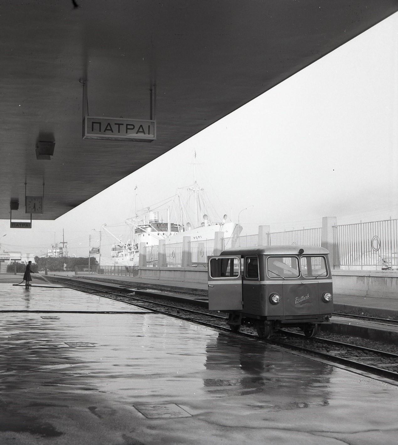 Μεταφορά μουσειακής δραιζίνας στο Νέο Σιδηροδρομικό Μουσείο