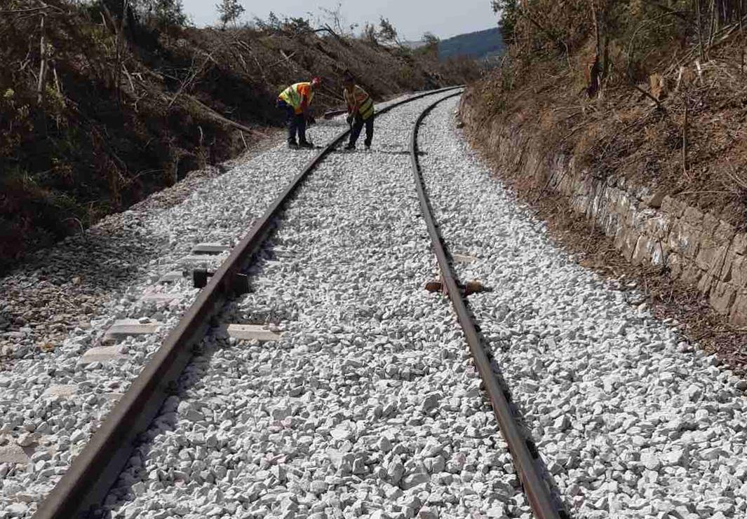 Αποκατάσταση κυκλοφορίας στο τμήμα γραμμής μεταξύ ΣΣ Λευκοθέας – ΣΣ Φωτολίβος